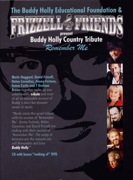 Buddy Holly Country Tribute - Remember Me (CD+DVD)
