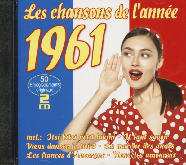 Les Chansons De L'Année 1961 (2-CD)
