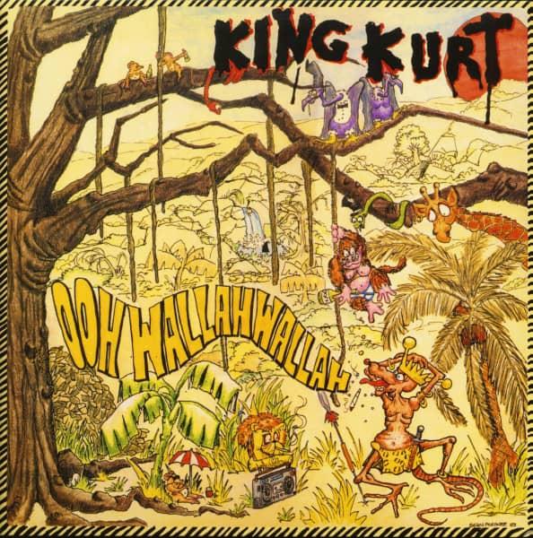 Ooh Wallah Wallah (LP, Yellow Vinyl, Ltd. Record Store Day Ed.)