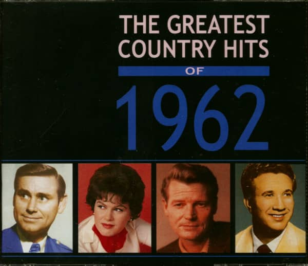 The Greatest Country Hits Of 1962 (4-CD)