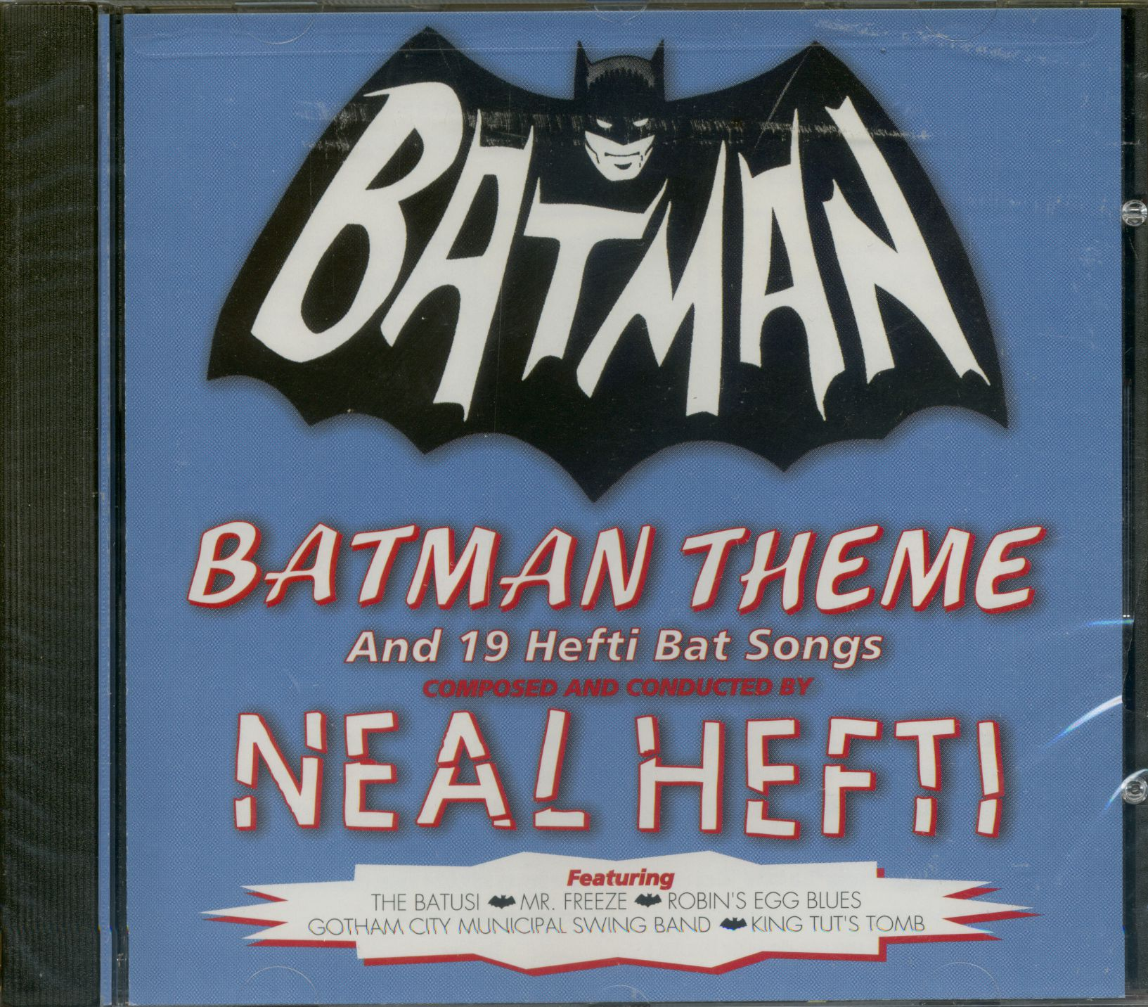 Neal Hefti Amp His Orchestra Cd Batman Theme And 21 Hefti