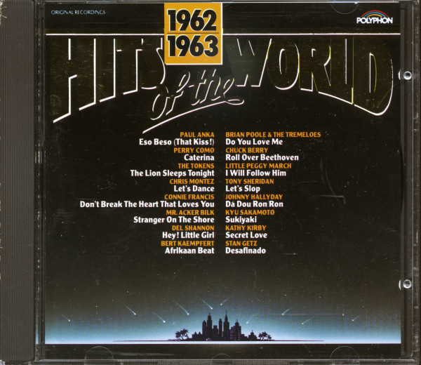 Hits Of The World 1962-63 (CD)