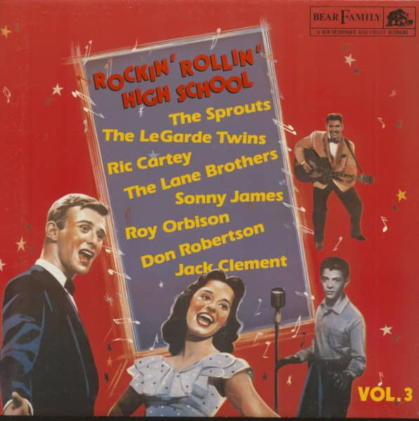 Rockin' Rollin' Highschool Vol.3 (LP)