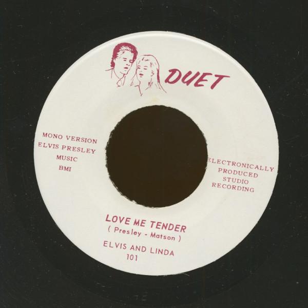 Love Me Tender (Mono) - Love Me Tender (Stereo) (7inch, 45rpm)