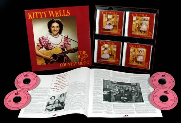 Queen Of Country Music 1949-1958 (4-CD Deluxe Box Set)