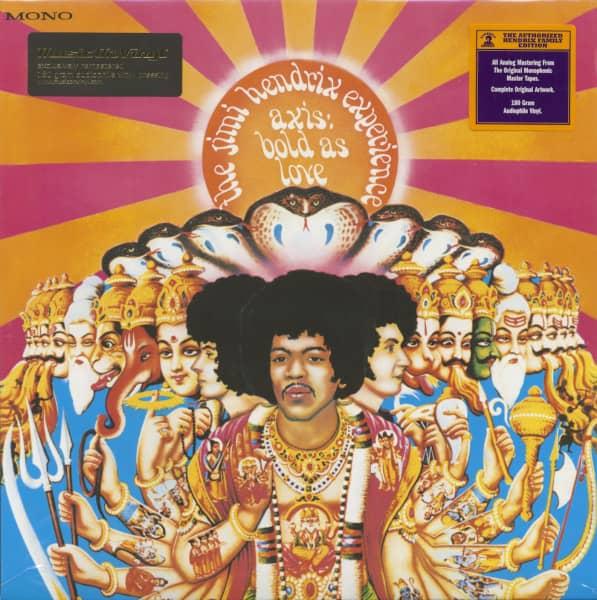 Axis - Bold As Love (LP, 180g Vinyl)