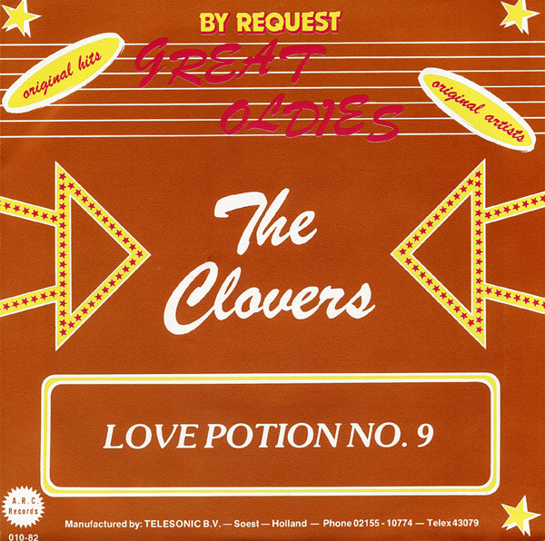 Love Potion No.9 - Summertime Blues 7inch, 45rpm, PS