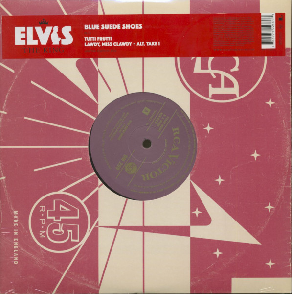 The King, Vol.3 - Blue Suede Shoes (10inch, 45rpm, EP)