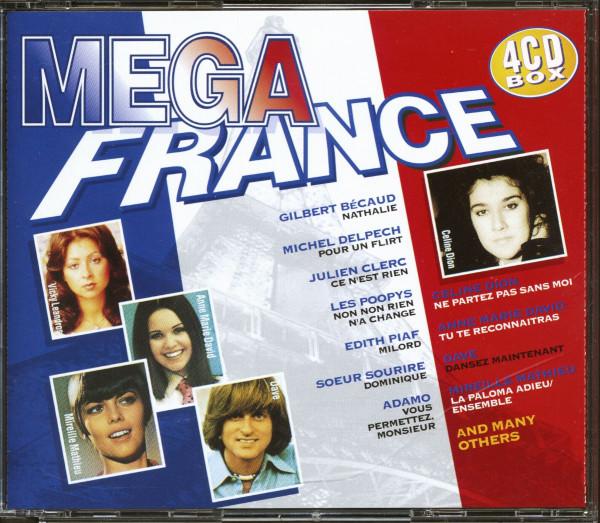Mega Collection Francaise (4-CD)