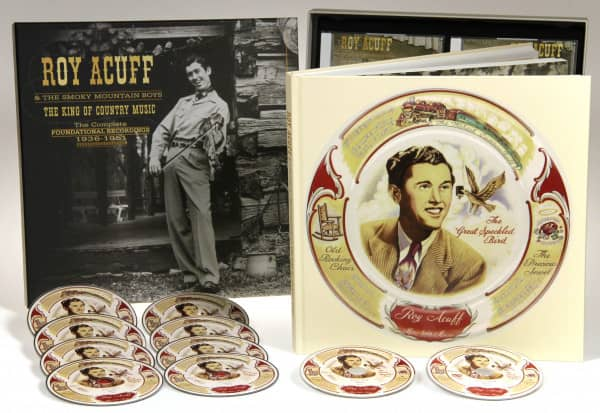 The King Of Country Music, The Foundational Recordings Complete 1936-51 (9-CD & 1-DVD Deluxe Box Set