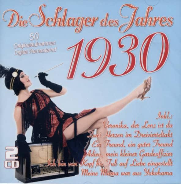 Die Schlager des Jahres 1930 (2-CD)