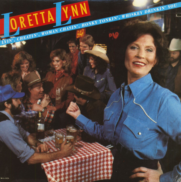 Lyin', Cheatin', Woman Chasin', Honky Tonkin', Whiskey Drinkin' You (LP, Cut-Out)
