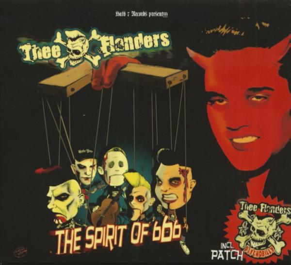 The Spirit Of 666 (CD & Patch, Ltd.)
