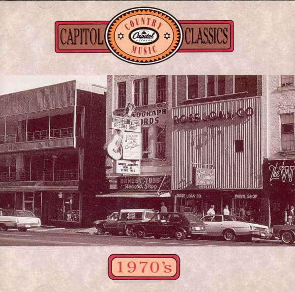 Capitol Country Music Classics - 1970's (CD)