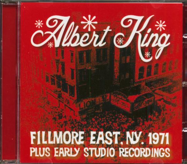 Fillmore East, New York, 1971, Plus Early Studio Recordings (CD)