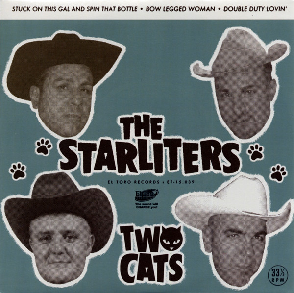Two Cats 45 - rpm, EP, PS, small center