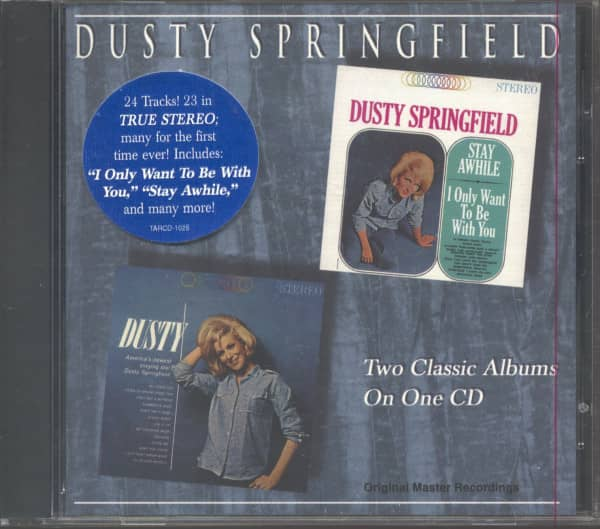 Stay Awhile, I Only Want To Be With You - Dusty (CD)