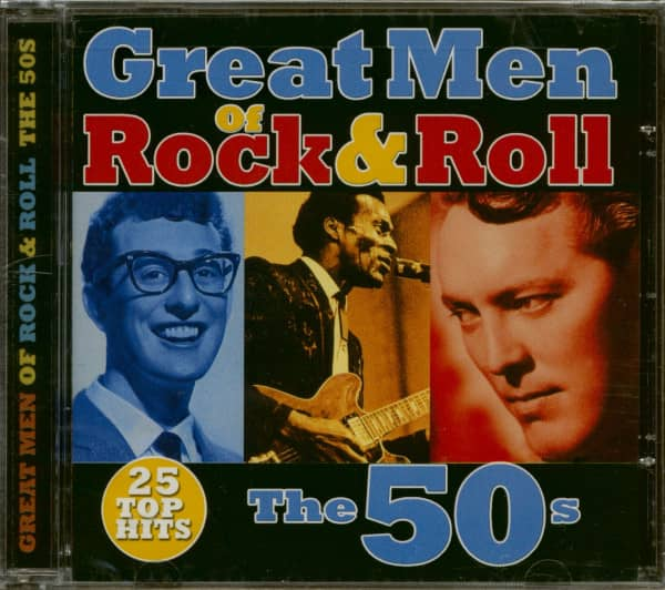 Great Men Of Rock & Roll - The 50s (CD)