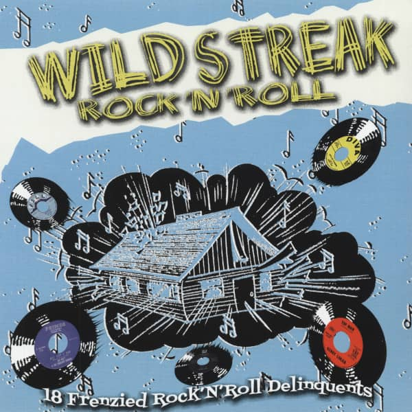 Wild Streak Rock'n'Roll (LP, 180g Vinyl, Ltd.)