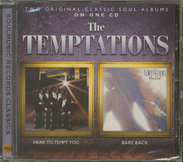 Hear To Tempt You - Bare Back CD)