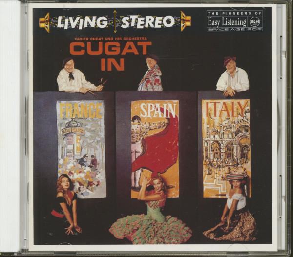 Cugat In France, Spain & Italy (CD)