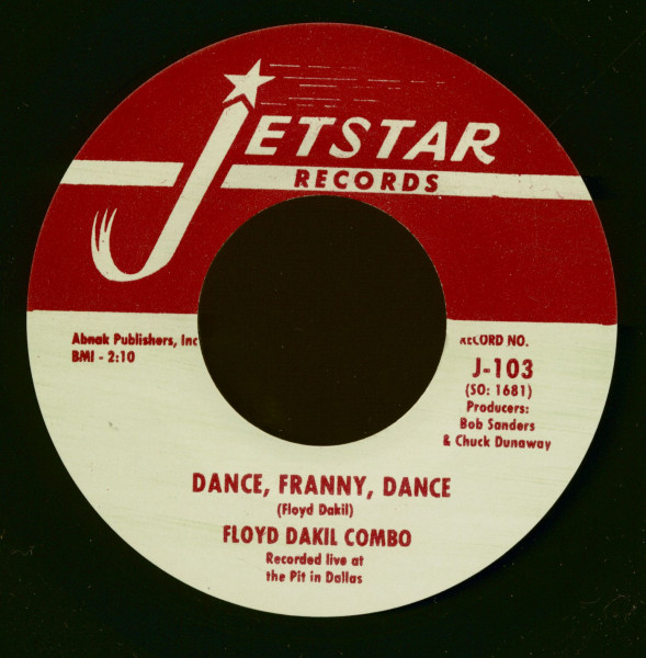 Dance, Franny, Dance - Look What You've Gone And Done (7inch, 45rpm)