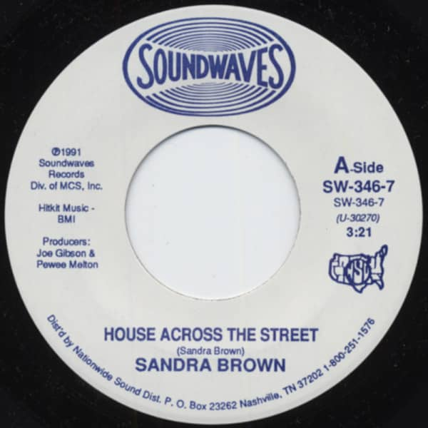 House Across The Street (7inch, 45rpm)