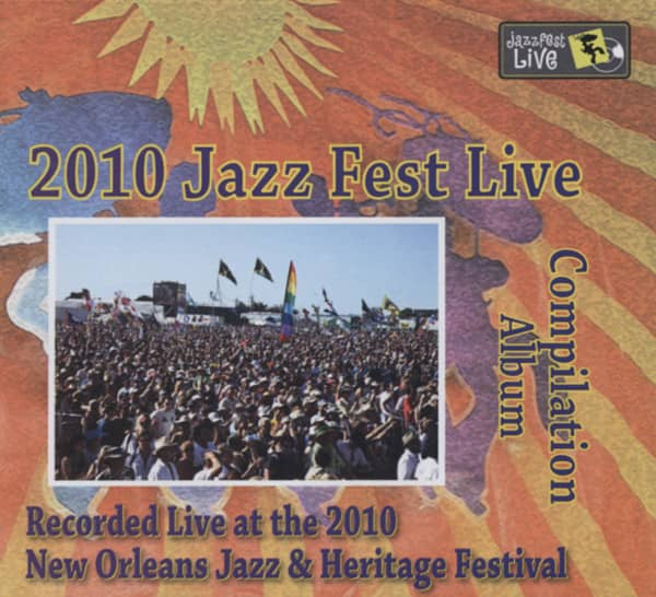2010 New Orleans Jazz Live (3-CD) Ltd.Edition