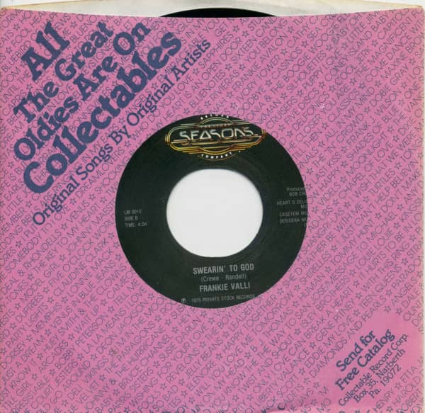 My Eyes Adored You - Swearin' To God (7inch, 45rpm, BC, CS)