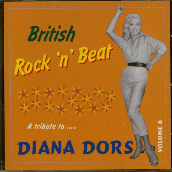 British Rock'n'Beat Vol.6 - A Tribute To Diana Dors (CD)