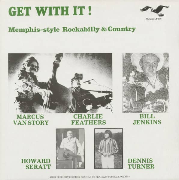 Get With It! - Memphis-style Rockabilly & Country (LP)