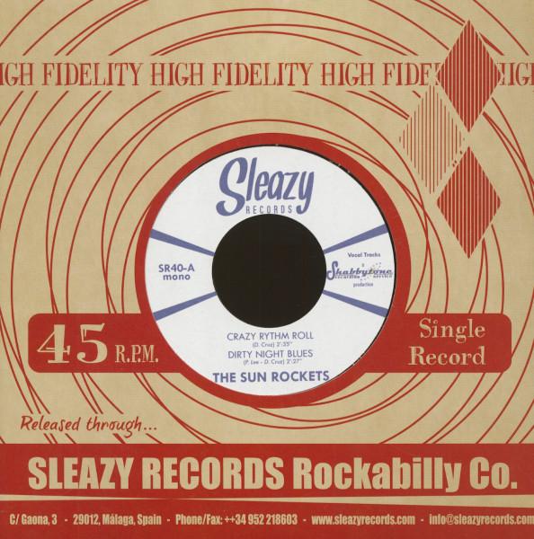 Crazy Rhythm Roll (7inch, 45rpm, EP, CS)