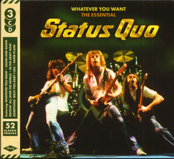 Whatever You Want - The Essential Status Quo (3-CD)