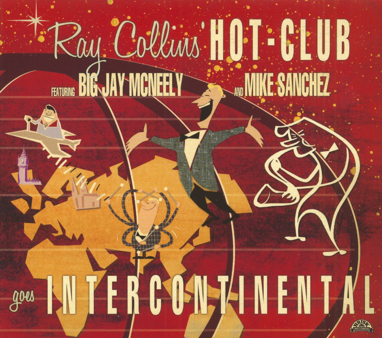 Ray Collins´ Hot-Club - Goes Intercontinental (CD)
