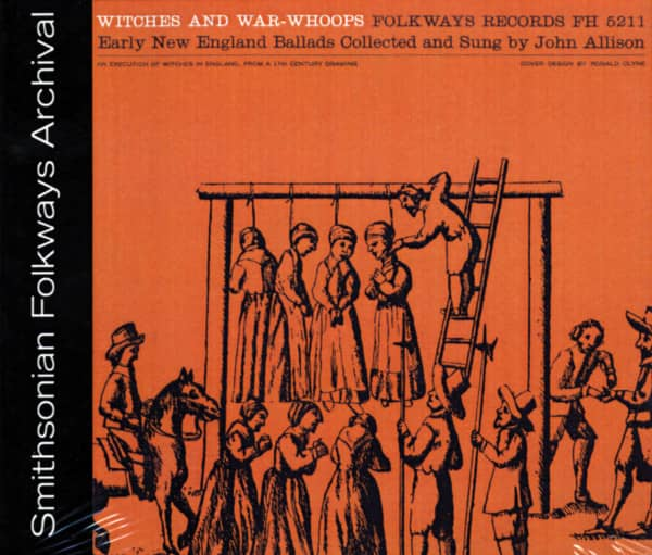 Witches And War-Whopps - Early New England Ballads