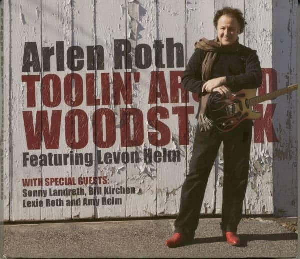 Toolin Around Woodstock Featuring Levon Helm (CD&DVD)