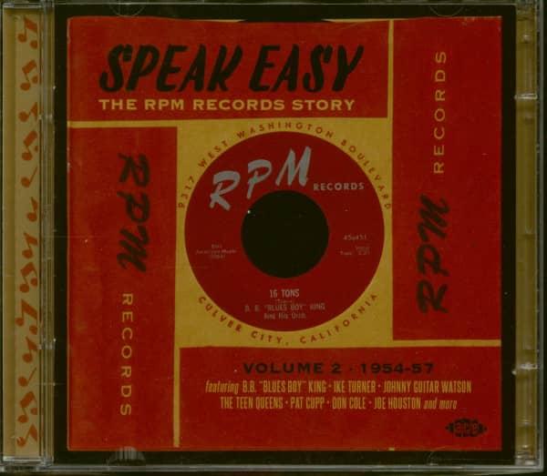 Speak Easy - The RPM Records Story Vol. 2 (2-CD Album)