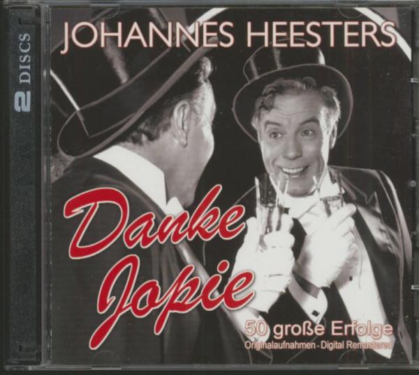 Danke Jopie - 50 große Erfolge (2-CD)