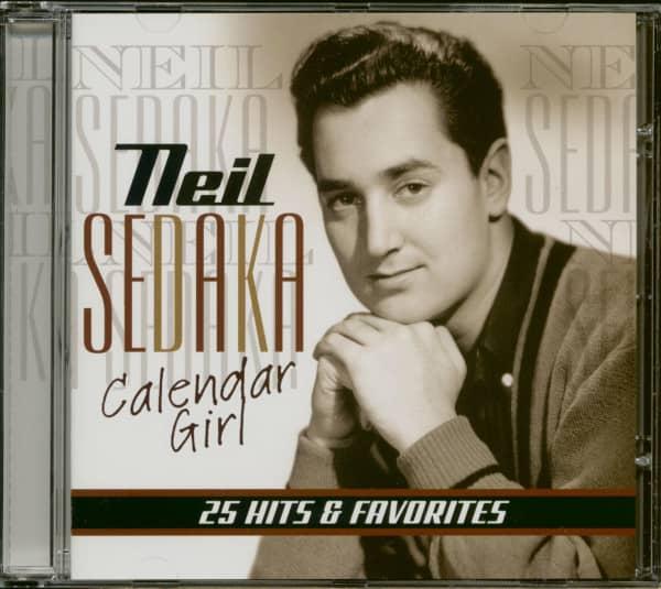 Calendar Girl - 25 Hits & Favorites (CD)