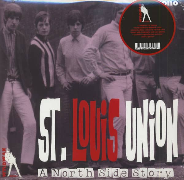 A North Side Story (LP, 10inch, Blue Vinyl, Ltd. & Numbered)