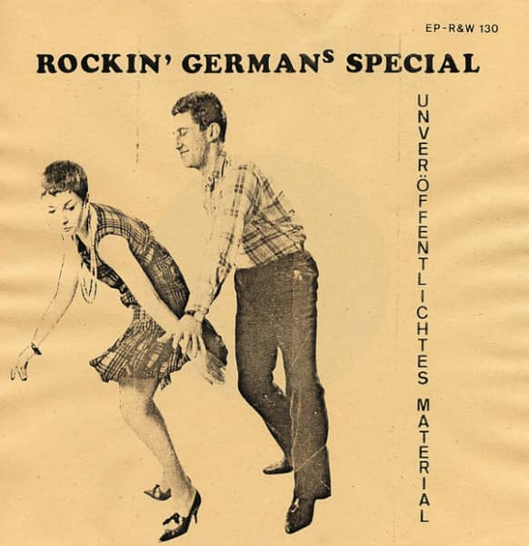 Rockin' German's Special (7inch, EP, 45rpm, PS)
