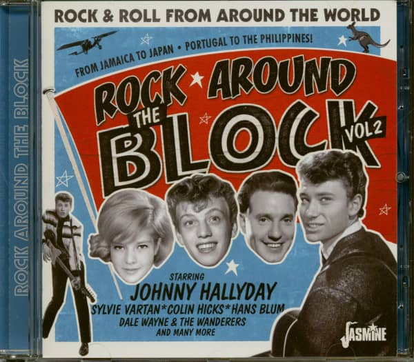 Rock Around The Block Vol. 2 - Rock & Roll from Around the World (CD)