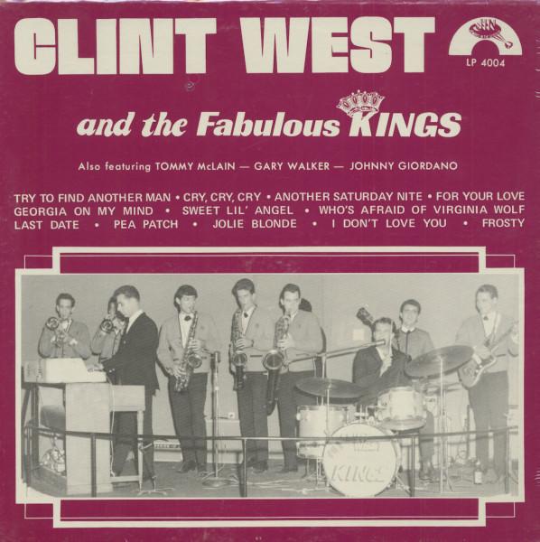 Clint West & The Fabulous Kings (LP)