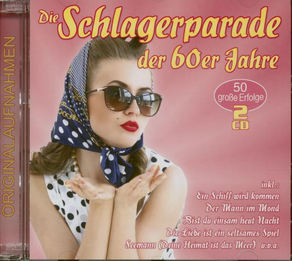 Die Schlagerparade der 60er Jahre (2-CD)