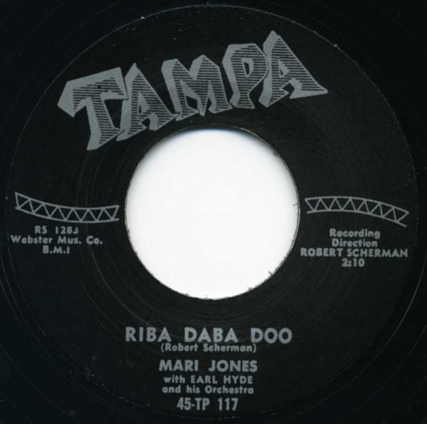 Riba Diba Doo - Chicken Little 7inch, 45rpm