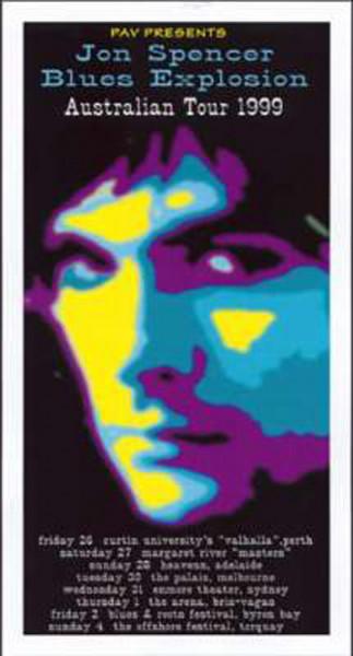 Australian Tour 1999 - Reprint Color 36x68cm