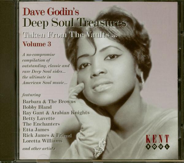 Dave Godin's Deep Soul Treasures Vol.3 (CD)