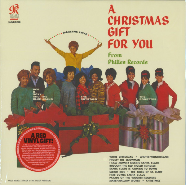 A Christmas Gift For You (limited red vinyl edition)