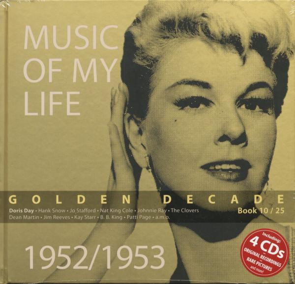 Golden Decade Vol.10 - 1952/1953 (Book & 4-CD)