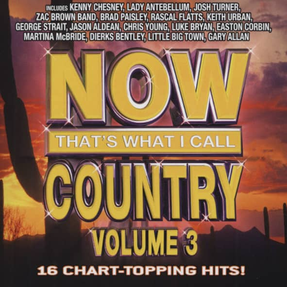 Vol.3, Now That's What I Call Country (US)